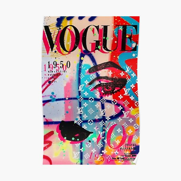 Vogue Cover Poster