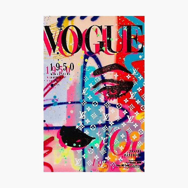 Vogue Cover Photographic Print
