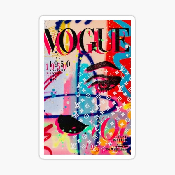 Vogue Cover Sticker