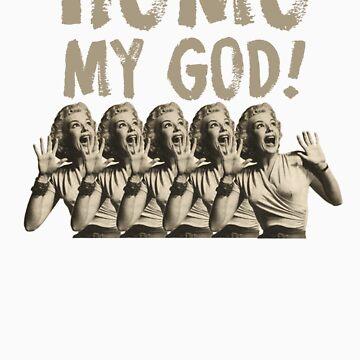 Homo My God by mancerbear