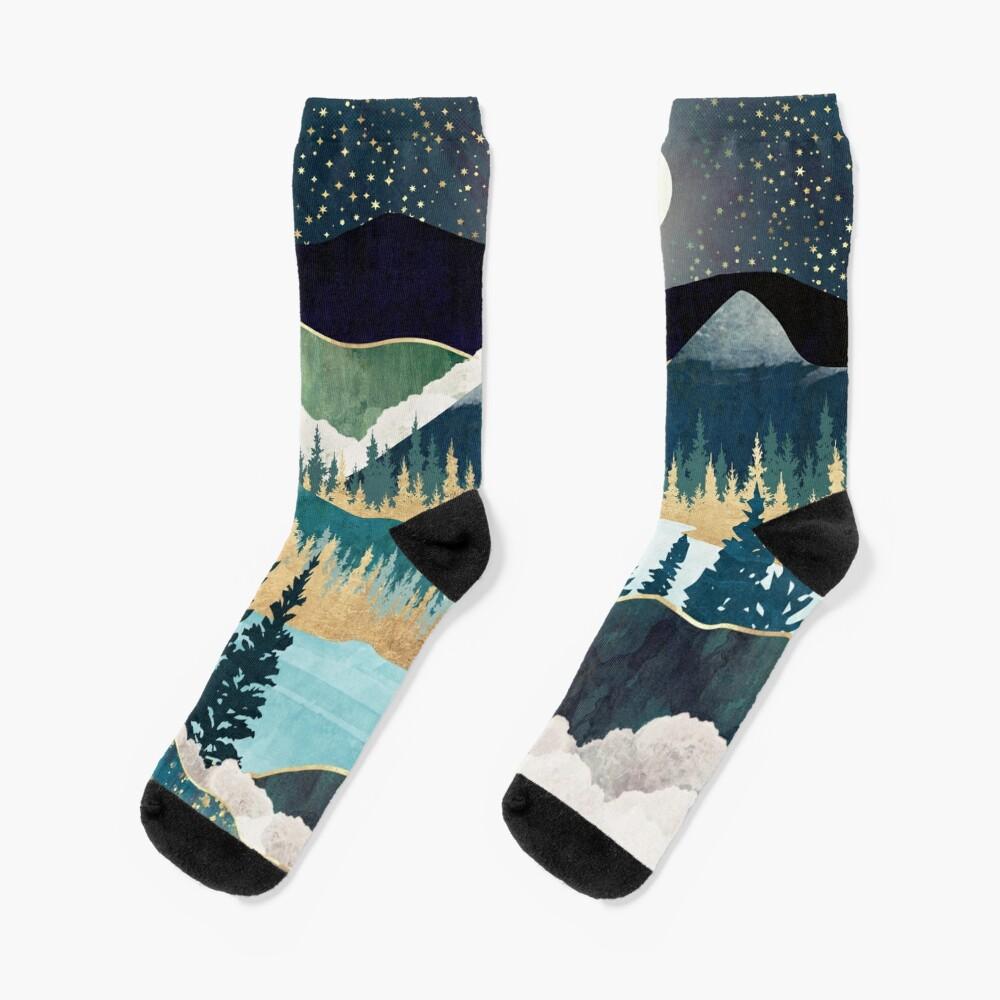 Star Lake Socks