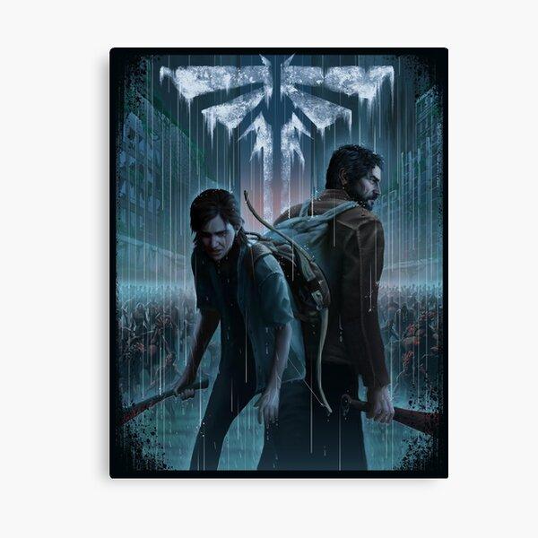 The Last Of Us Ellie and Joel Canvas Print