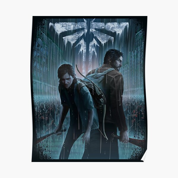 The Last Of Us Ellie and Joel Poster