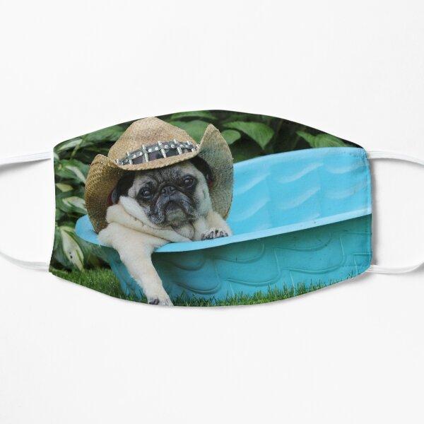 Igor Cowboy Pug in Pool Flat Mask