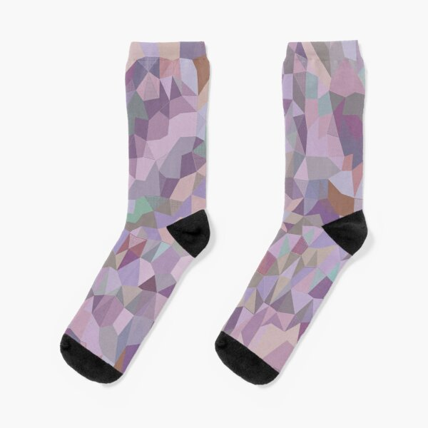 Purplish Cabbage Unisex Funny Casual Crew Socks Athletic Socks For Boys Girls Kids Teenagers