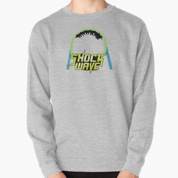 Shockwave Loop Design Pullover Sweatshirt