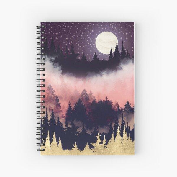 Evening Glow Spiral Notebook