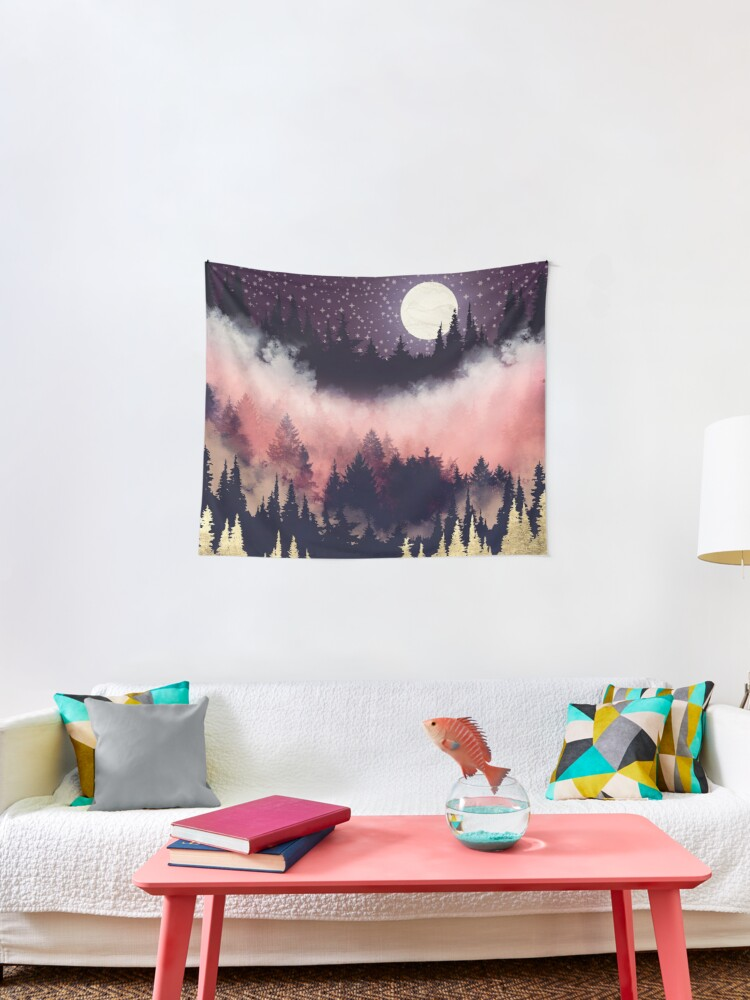 Evening Glow Tapestry By Spacefrogdesign Redbubble