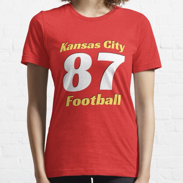 Kansas City Football Number 87 - Celebration Gridiron State Of Missouri T-Shirt  Essential T-Shirt