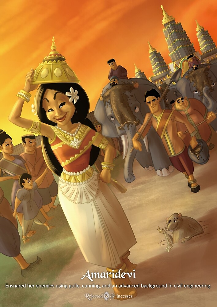 Amaridevi - Rejected Princesses by jasonporath