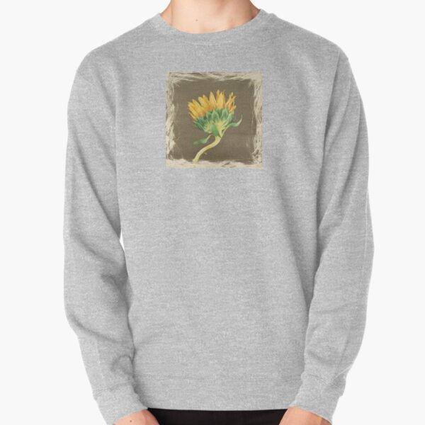 Sunflower Drying Pullover Sweatshirt