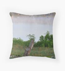 Sunrise on the River Murray @ Mannum, S.A. Throw Pillow