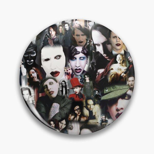 Collage de Marilyn Manson Badge