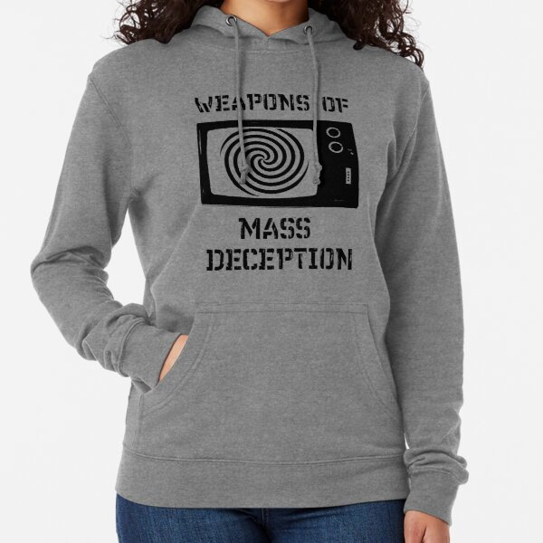 Weapons of Mass Deception Lightweight Hoodie