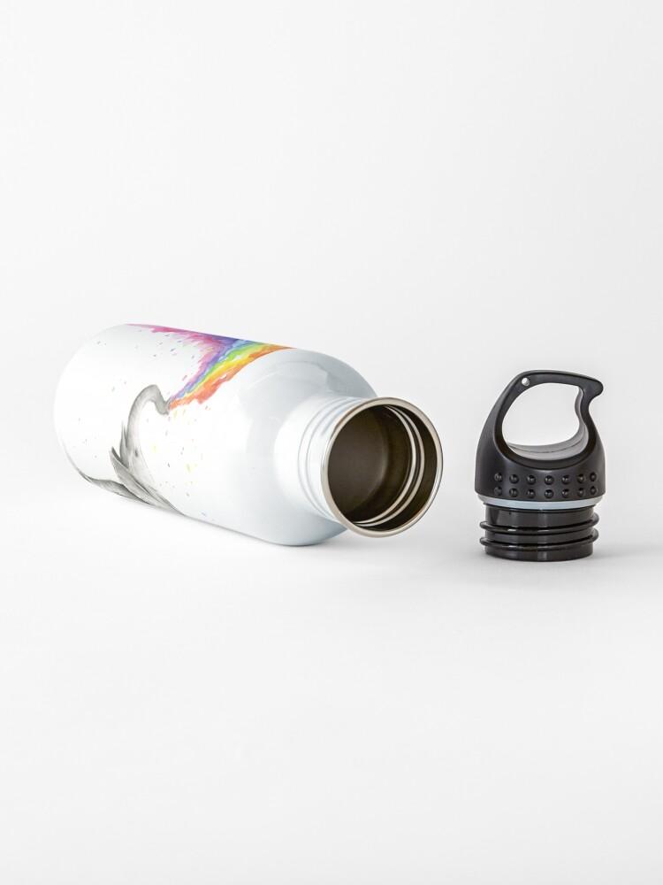 Alternate view of Baby Elephant Spraying Rainbow Water Bottle