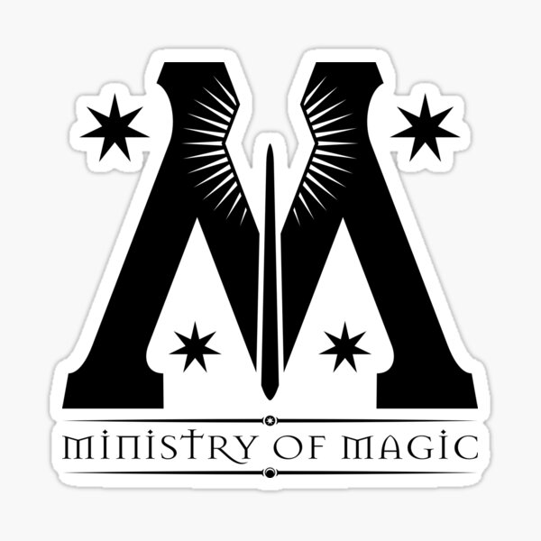the ministry of magic  Sticker