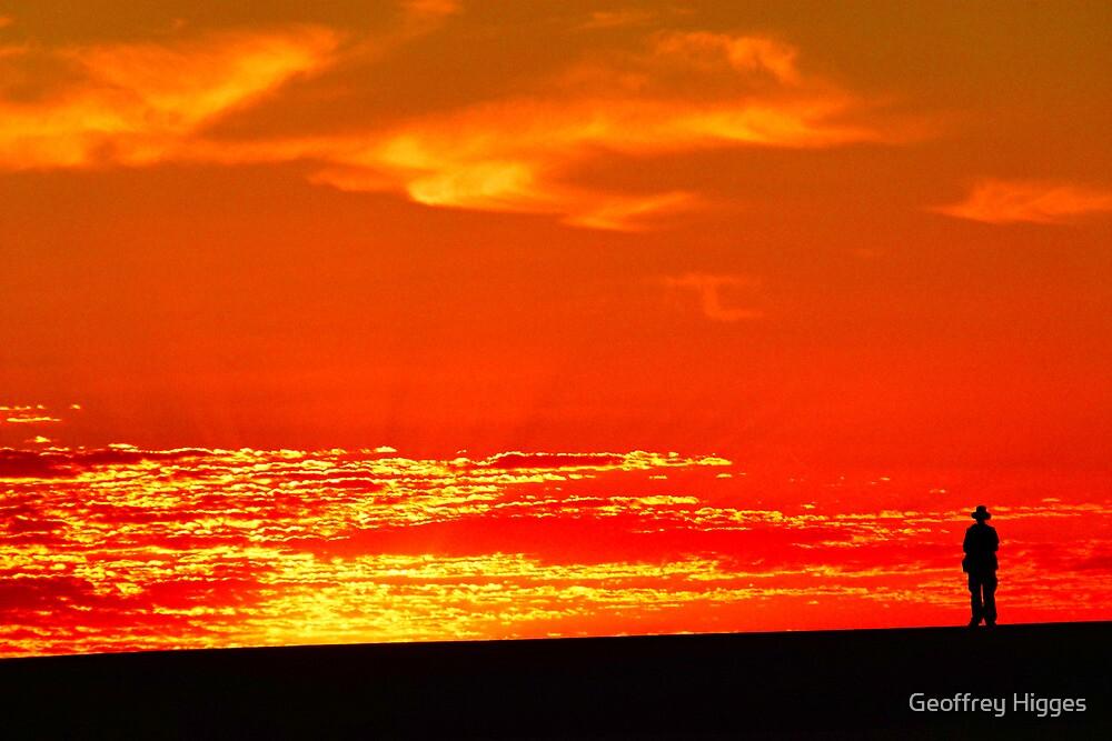 Sunrise at Lake Mungo, Australia by Geoffrey Higges