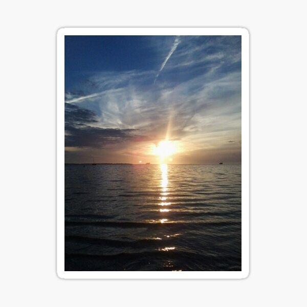 Watching the Sunset Sticker
