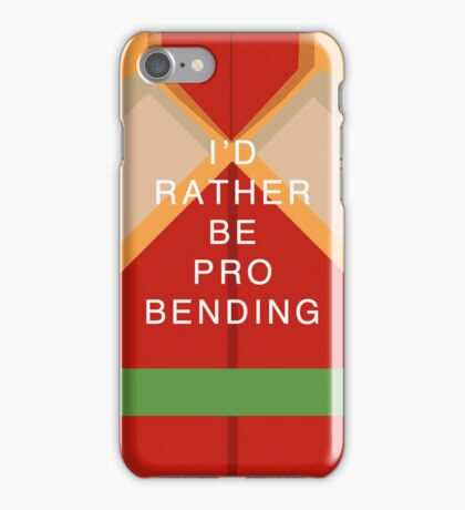 Rather Be Probending (Bolin) iPhone Case/Skin