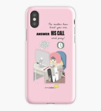 Answer His Call iPhone Case/Skin