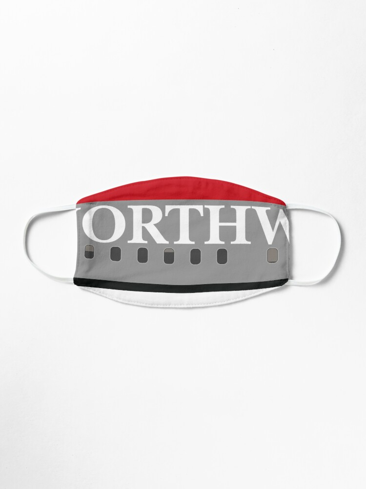 Alternate view of Plane Tees - Northwest Airlines Mask