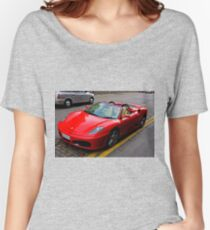 Ferrari drivers can park where they like Women's Relaxed Fit T-Shirt