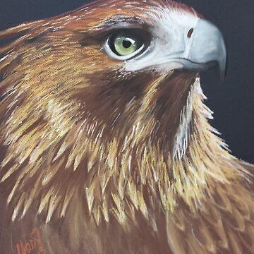 Golden Eagle by YasminChambers