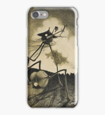 Original Illustrations War of the Worlds 2 iPhone Case/Skin