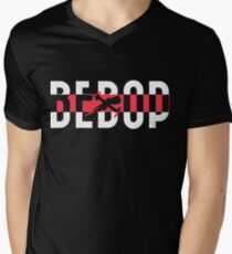 Bebop Men's V-Neck T-Shirt
