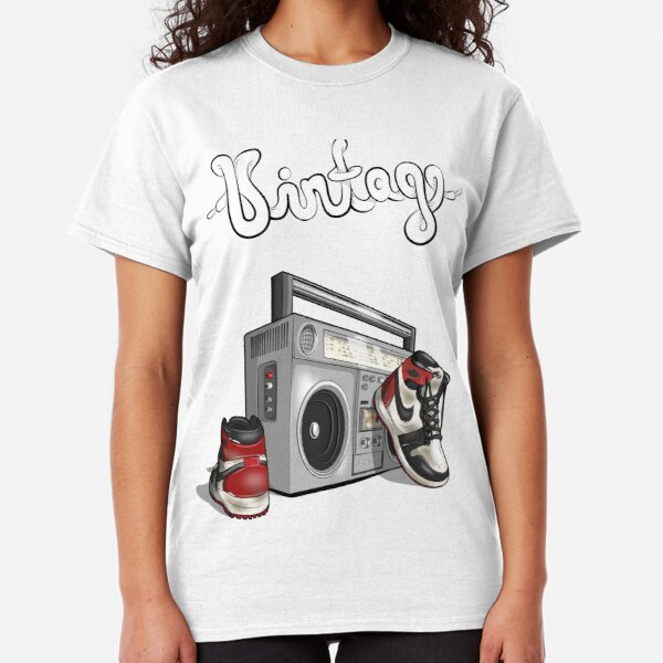 Vintage Hip-hop Basketball Graphic Classic T-Shirt