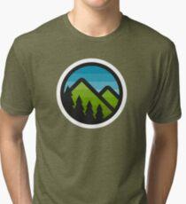 Mountain Badge Tri-blend T-Shirt