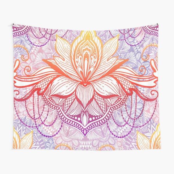 lotus mandala flower Tapestry