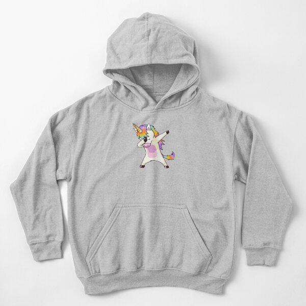 Dabbing de unicornio Sudadera con capucha para niños