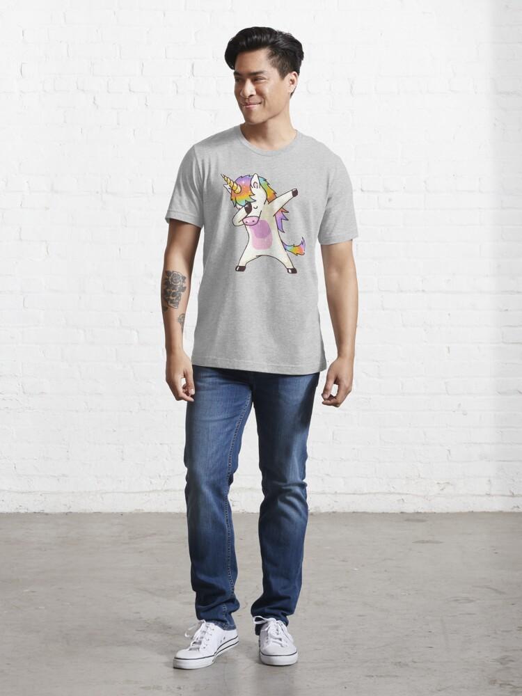 Alternate view of Unicorn Dabbing Essential T-Shirt