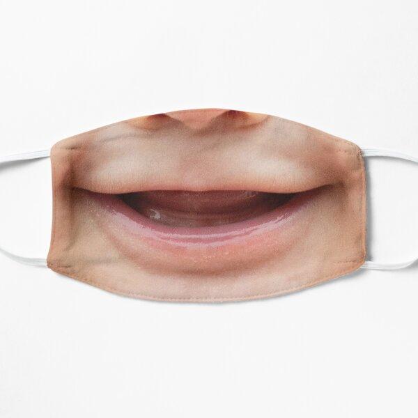 Smiling Baby Funny Face Mask Flat Mask