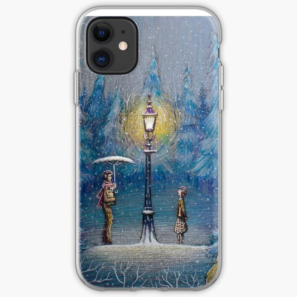 Narnia Magic Lantern iPhone Soft Case