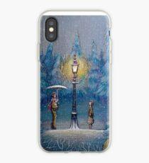 Vinilo o funda para iPhone Narnia Magic Lantern