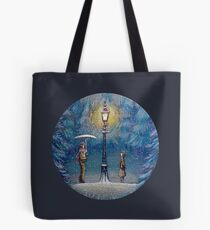 Narnia Magic Lantern Tote Bag