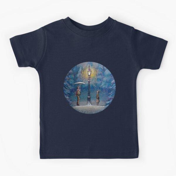 Narnia Magic Lantern Kids T-Shirt