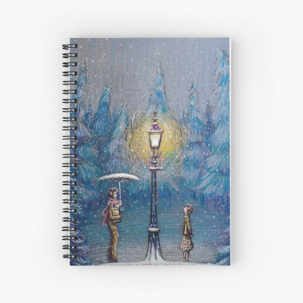 Narnia Magic Lantern Spiral Notebook