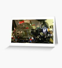 35mm Film Projector Greeting Card