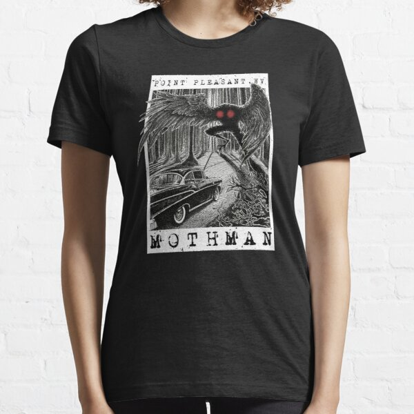 Mothman Encounter - Point Pleasant, WV Cryptid Gift Essential T-Shirt