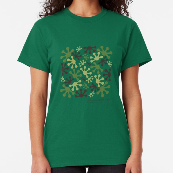 Green Mango Camo Classic T-Shirt