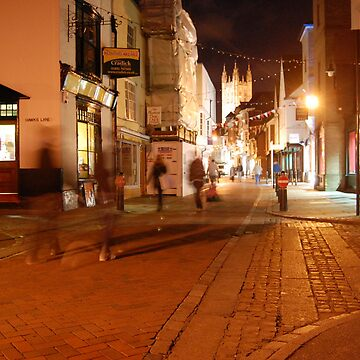 Canterbury at Night by Shirlaw