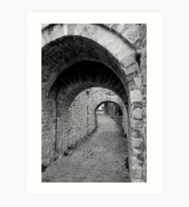 Archways Art Print