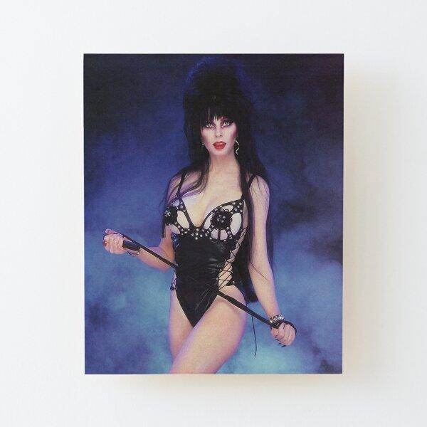 Burlesque Elvira Wood Mounted Print