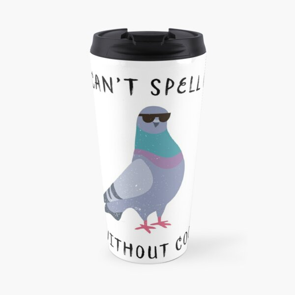 Cool pigeon Travel Mug