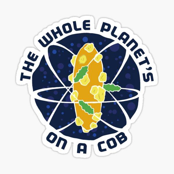 Cob Planet Molecule Sticker