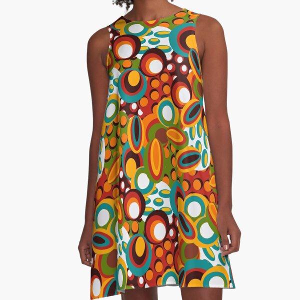 70s style A-Line Dress