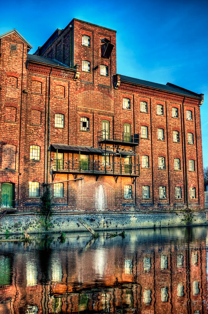 Abandoned Flour Mill HDR by Vicki Field